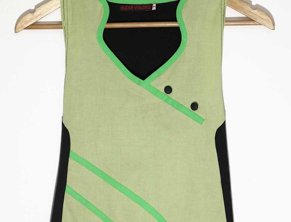 Blusa 2 Mentes (verde agua)