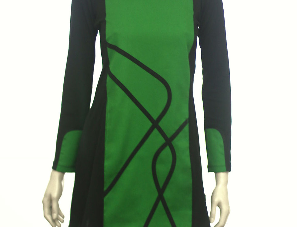 Vestido Día Ecacto (verde benetton)