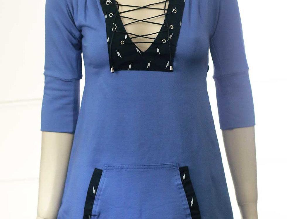 Vestido Mavleví (azul)