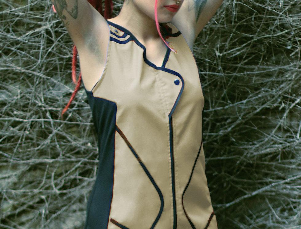 Vestido Avecita (beige)