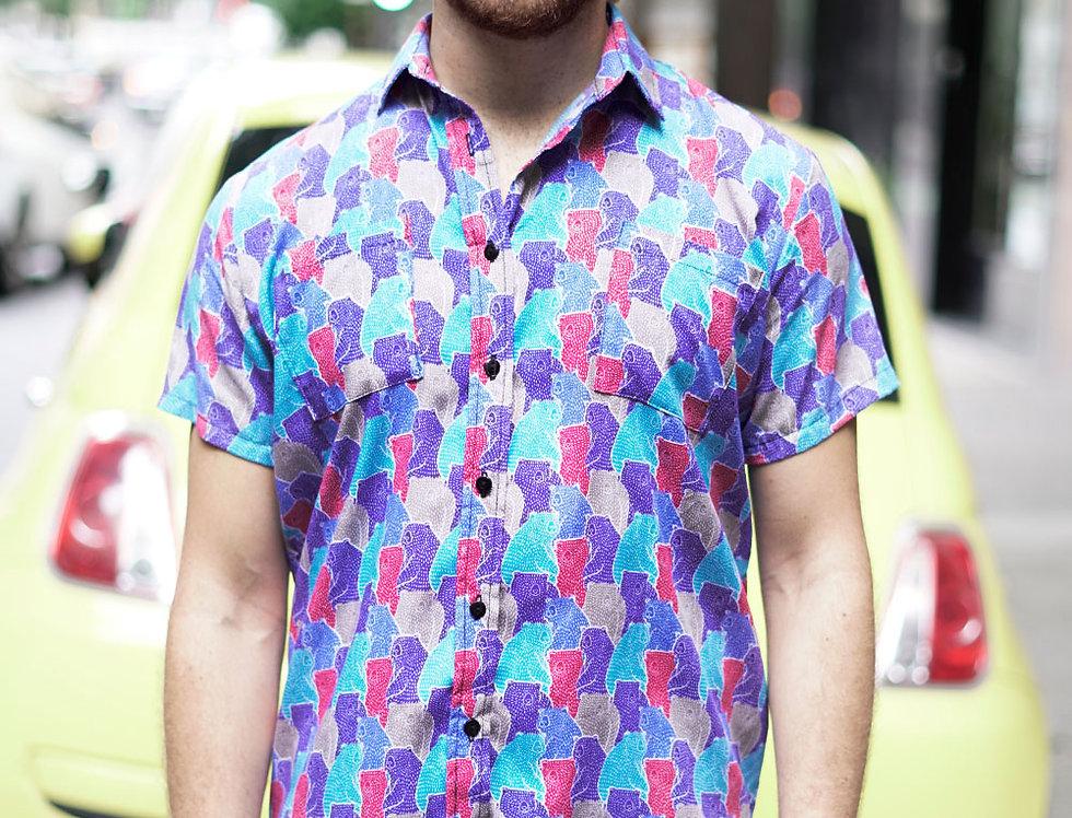 Camisa Juntes (est. osos azul)
