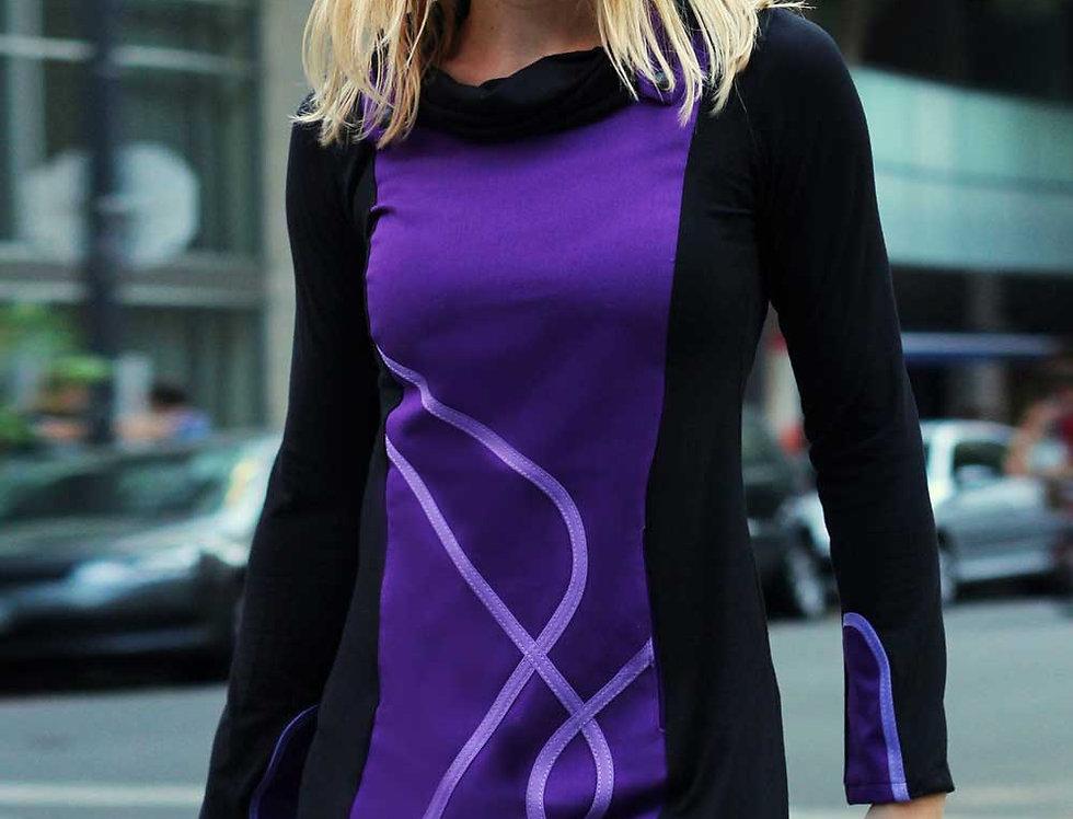 Vestido Día Exacto (violeta)