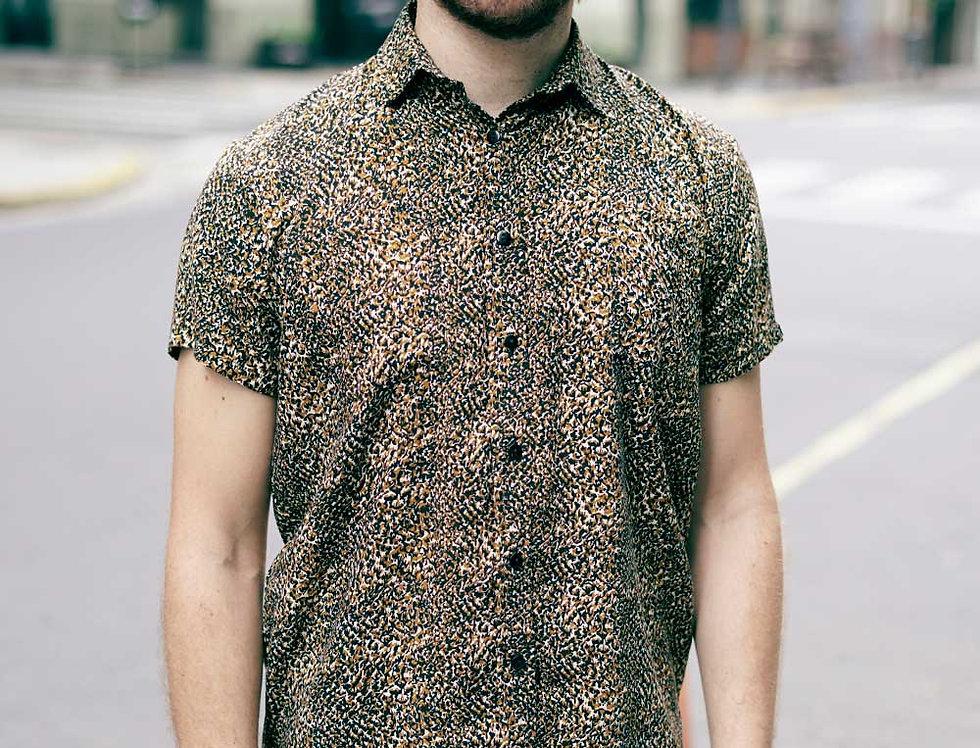 Camisa Juntes (animal print)