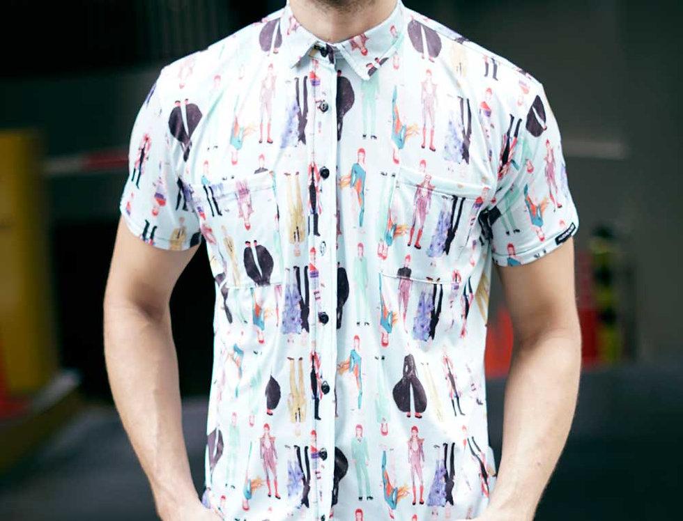 Camisa Juntes (Bowies turquesa)