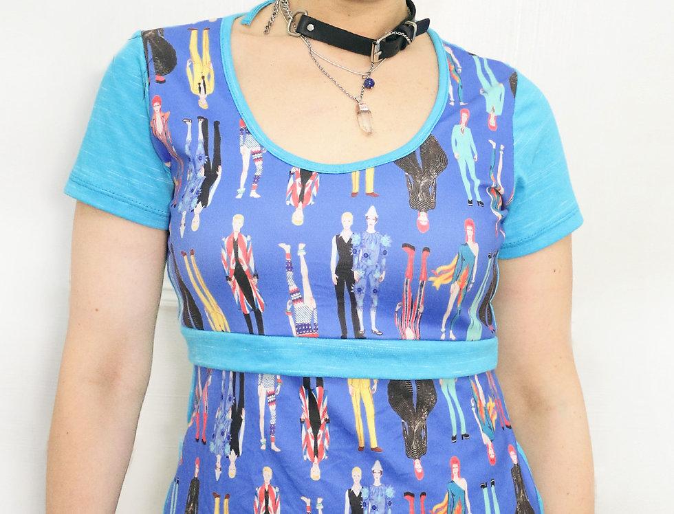 Blusa Pop (Bowies azul)