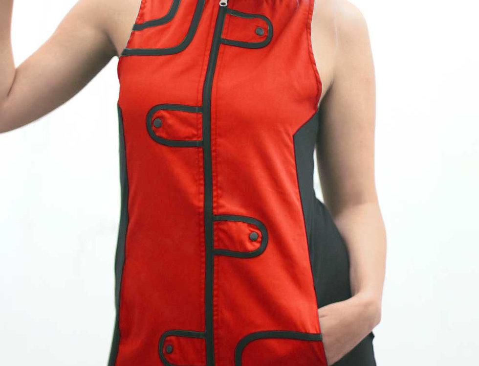 Vestido Audry Mini (Rojo)