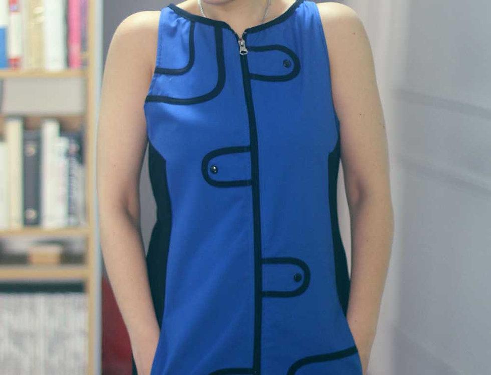 Vestido Audry Mini (Azul francia)