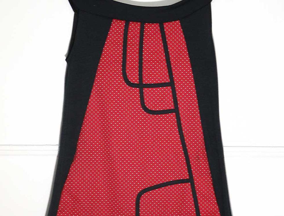 Vestido Kabu (Rojo Lunares)