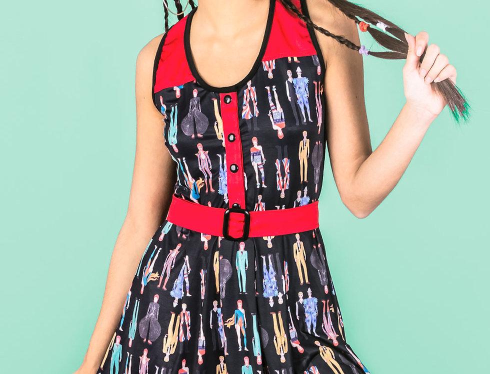 Vestido Las Palabras verano (Bowies negro)