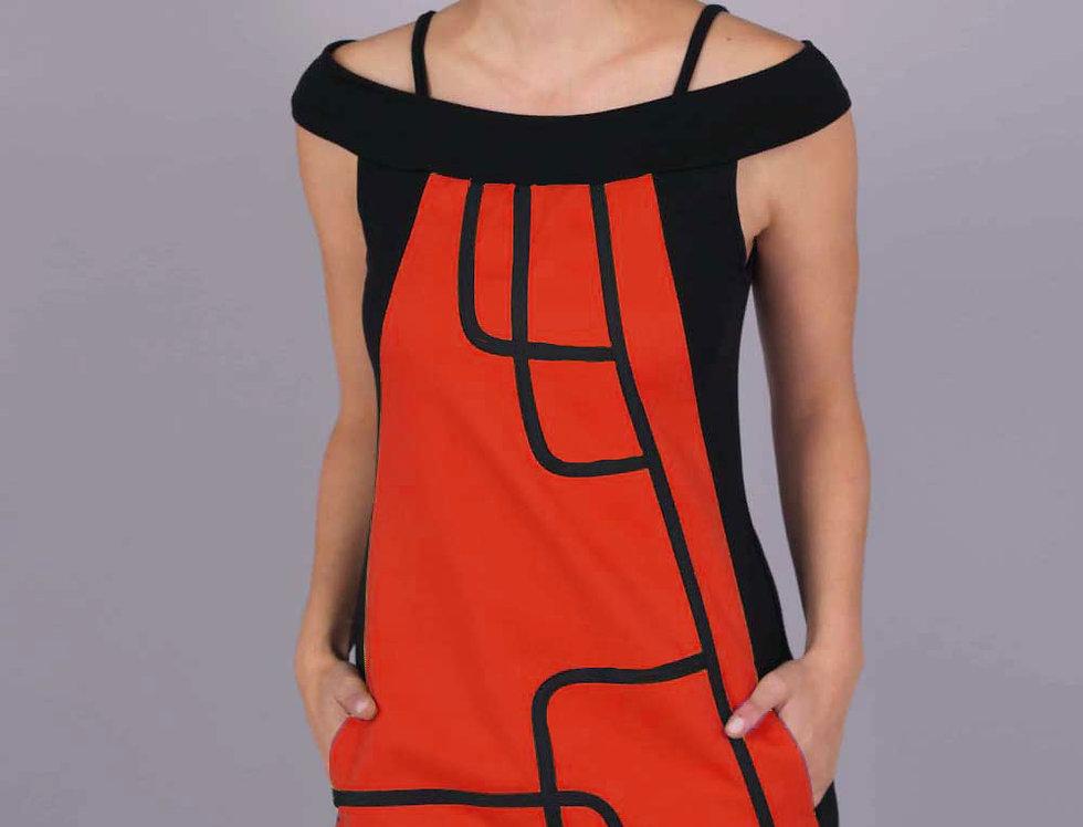 Vestido Kabu (Rojo)