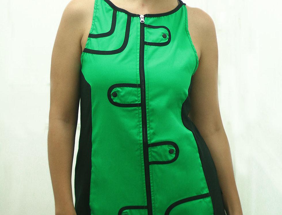 Vestido Audry Mini (Verde Benetton)