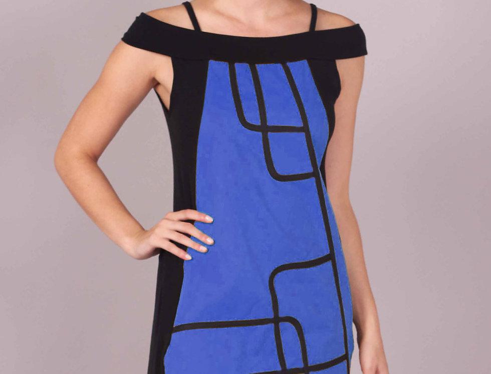 Vestido Kabu (Azul Francia)