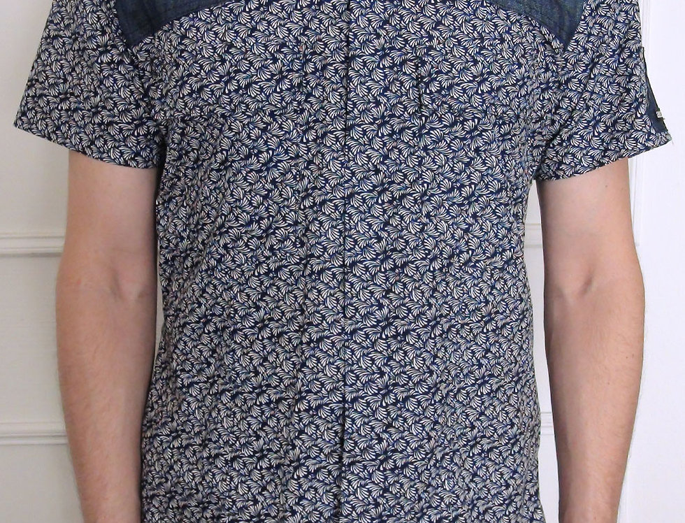 Camisa Hombre (est. azul)