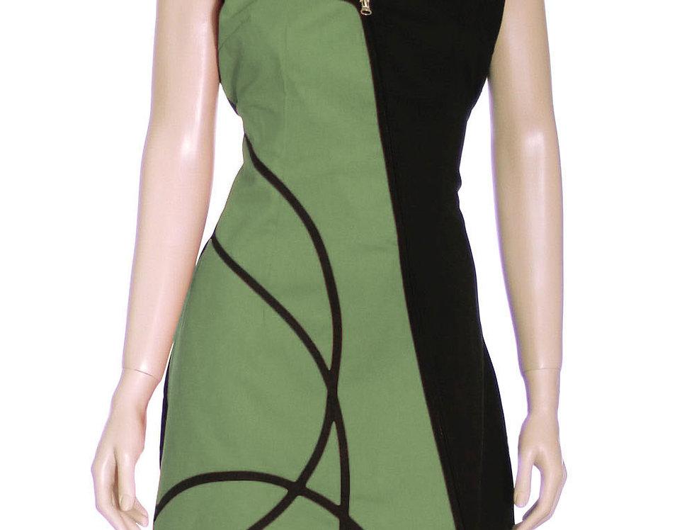 copia de Vestido Diamanta (verde pistacho)