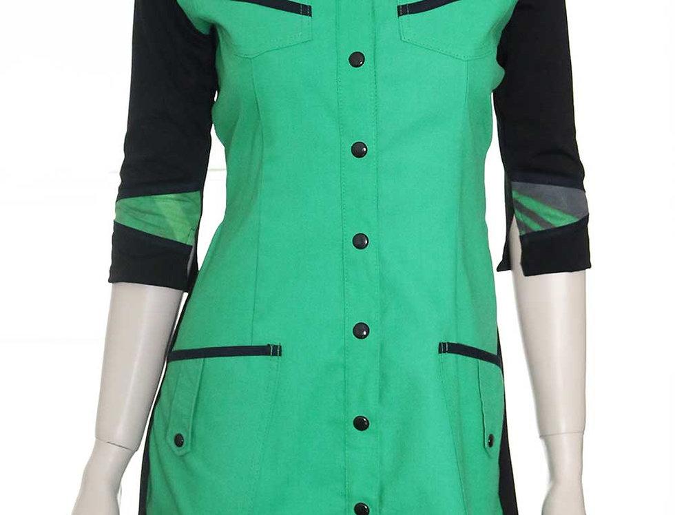Vestido Maquinal (verde)