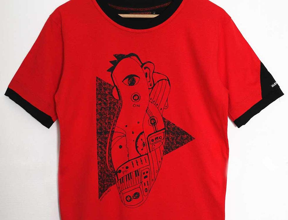 Remera Hombre (roja-babacho)