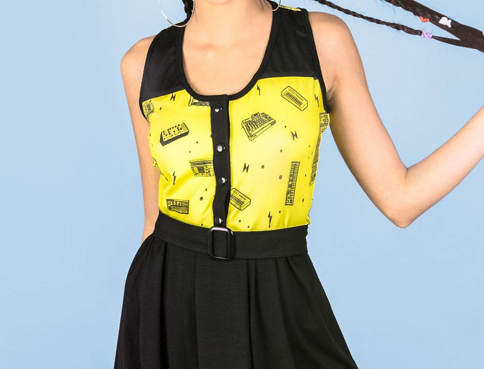 Vestido Las Palabras verano (amarillo sintes)
