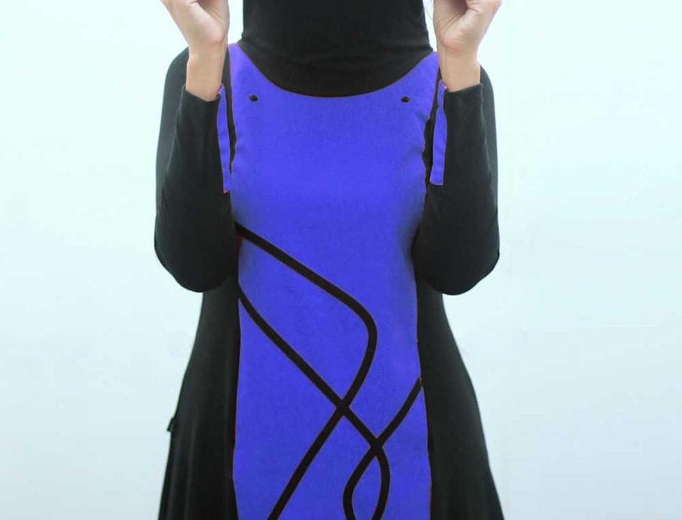 Vestido Día Exacto (azul francia)