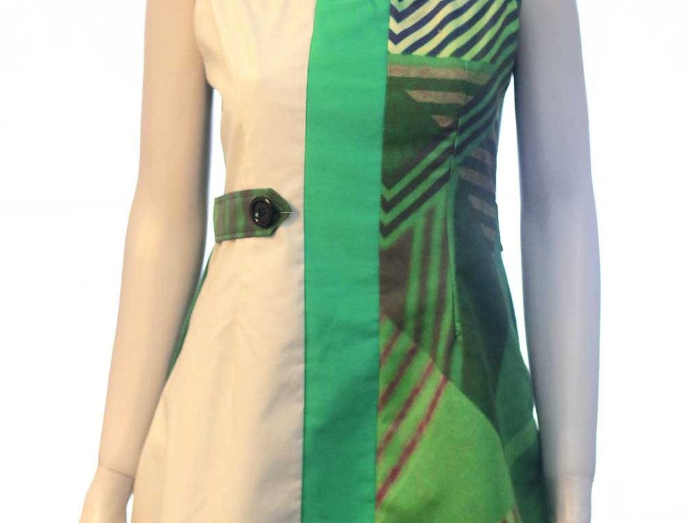 Vestido Romycal (est. verde)