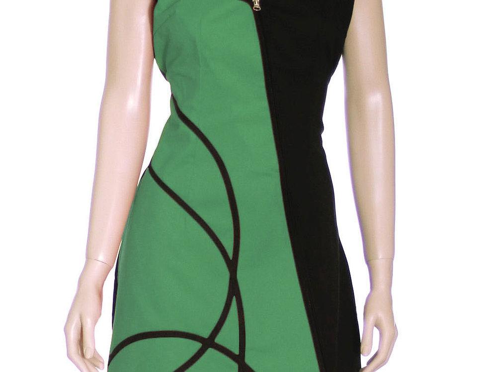 Vestido Diamanta (verde benetton)