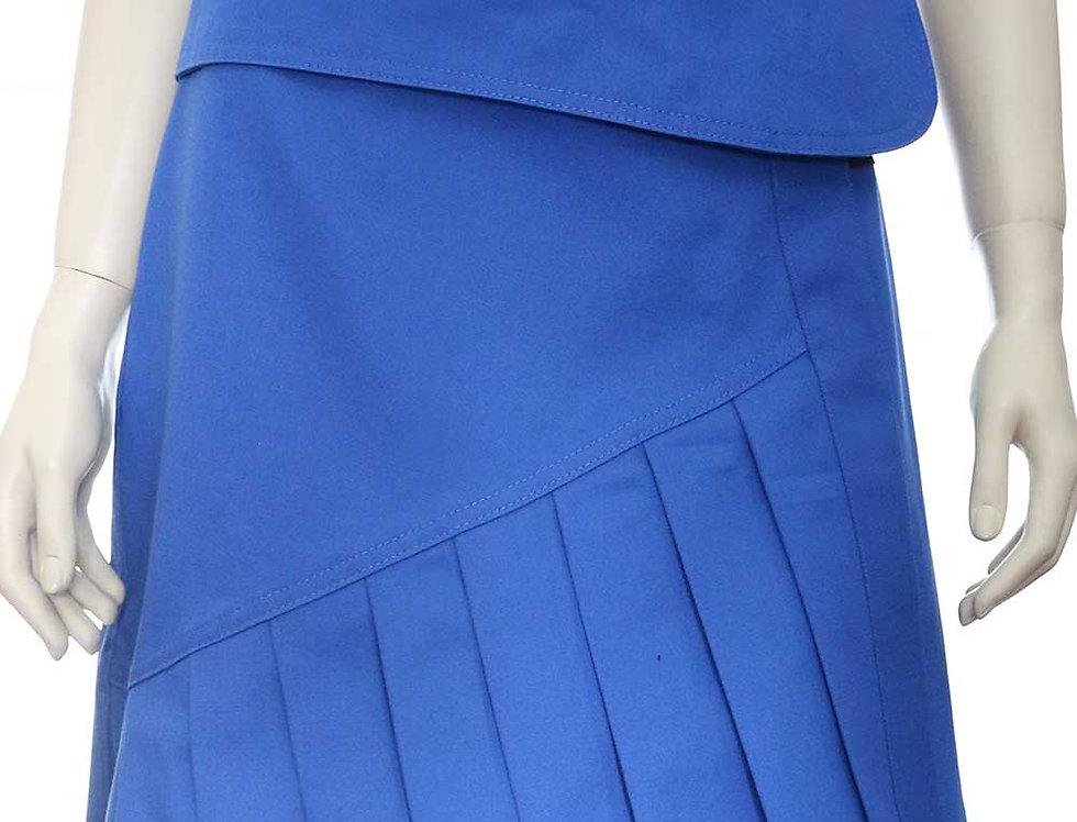 Falda Momento (azul francia)