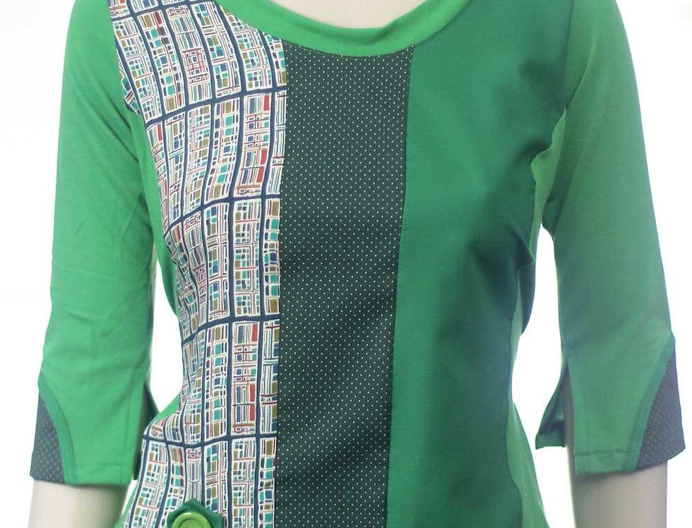 Blusa Hace Verde puntitos