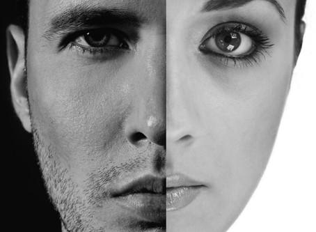 男性和女性皮膚之間最大的差別
