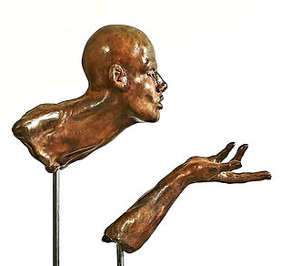 "Sculpture Eva Czaplicki ""Zéphyr"""""