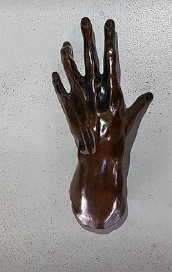 """Sculpture Eva Czaplicki  bronze """"Le pianiste"""""""