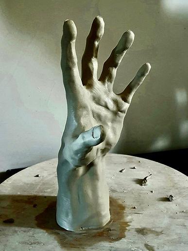 "Sculpture Eva Czaplicki ""Approche"""