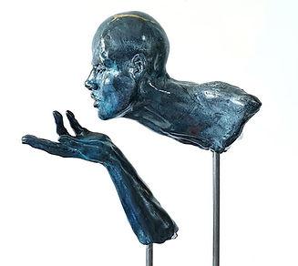 "Sculpture Eva Czaplicki ""Zéphyr"""