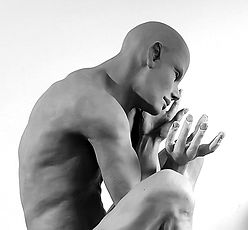 "Sculpture bronze  Eva Czaplicki ""Origine"""