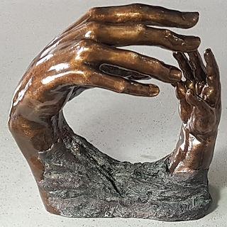"""Sculpture Eva Czaplicki """"Requiem"""""""""""