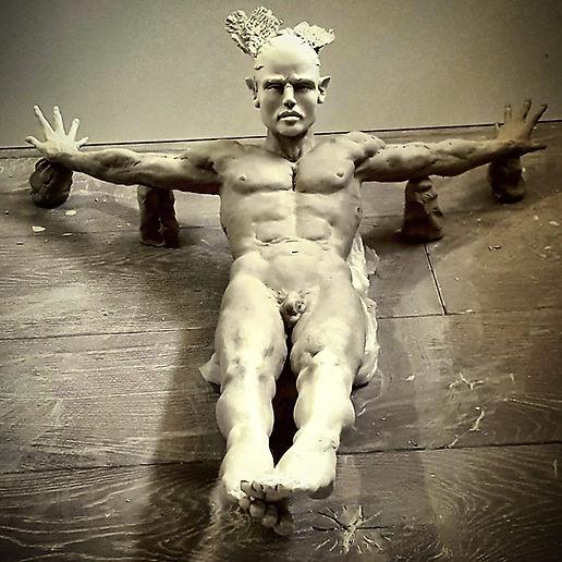 "Sculpture Eva Czaplicki ""Phoenix"""
