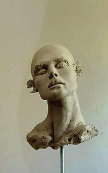 """Sculpture Eva Czaplicki """"Silence"""""""
