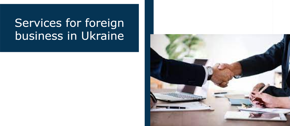 Are you a foreign citizen and do you have a business in Ukraine?