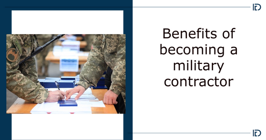 Becoming a military contractor
