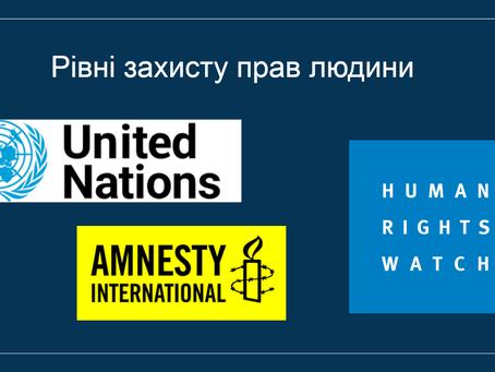 Рівні захисту прав людини