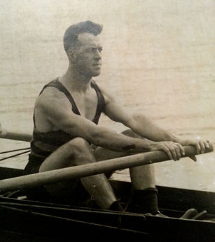 John Booth war hero Blamain Rowing Club
