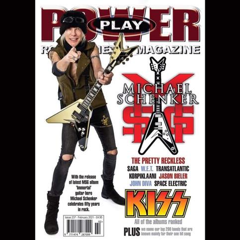 Korypheus on Powerplay Magazine, UK