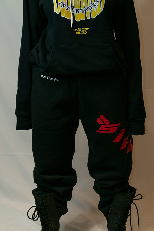 Sicko by Ian Connor Born of Pain Sweats Black
