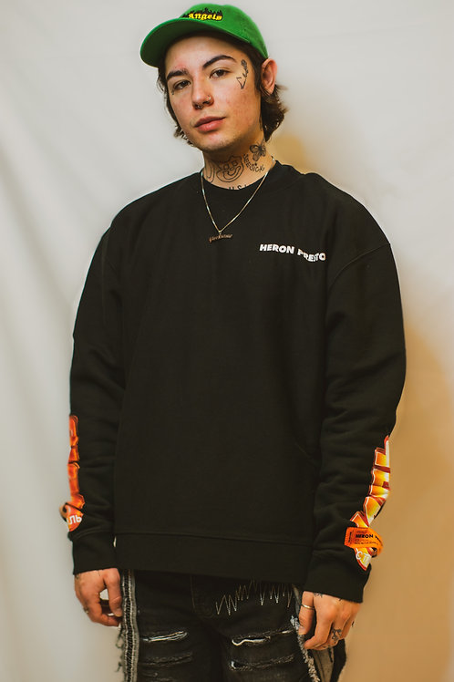 Heron Preston Chromed Crewneck