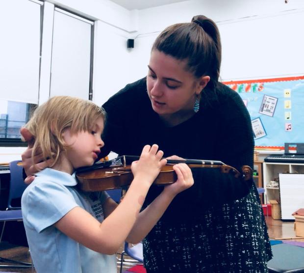 Zeynep chosen to be a New York Philharmonic Teaching Artist Apprentice
