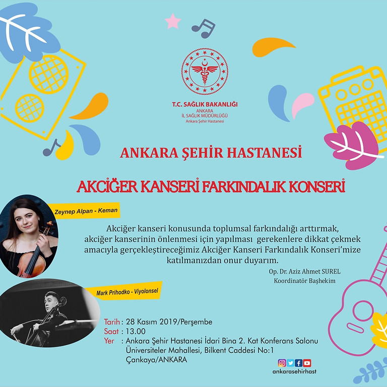 Performances at Ankara Sehir Hospital