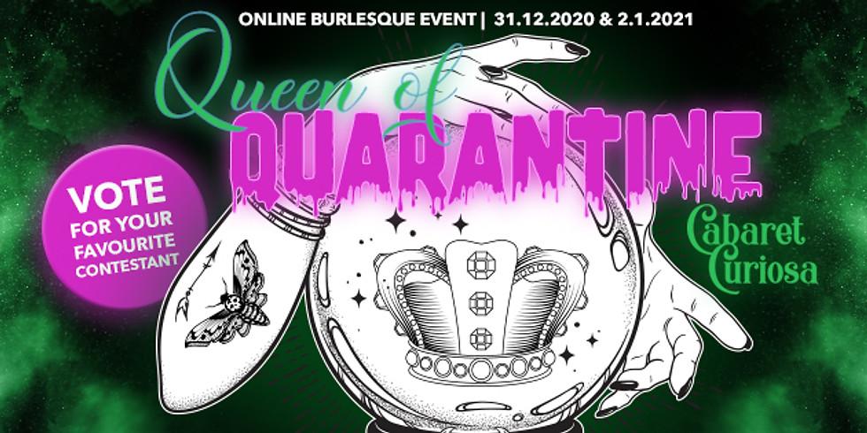 Cabaret Curiosa- Queen of Quarantine Round 1 Part 1