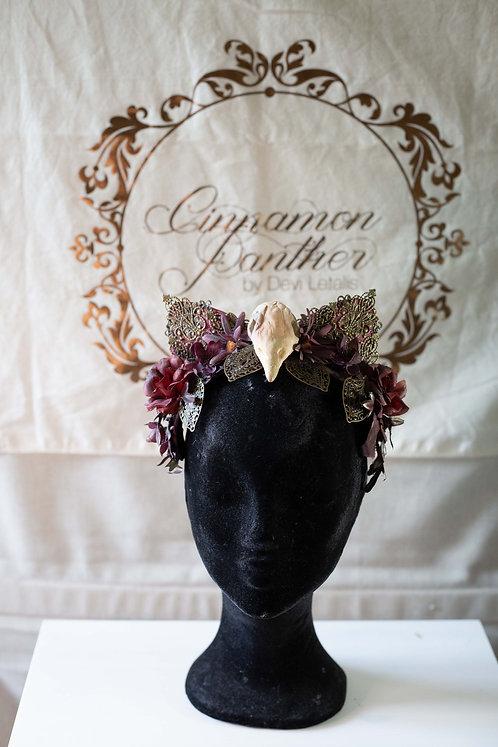 Headpiece Queen of Cats
