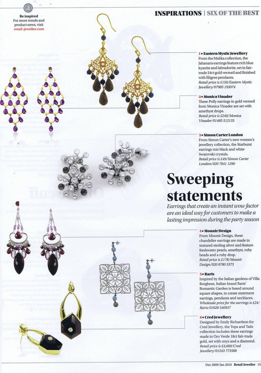 Retail jeweller