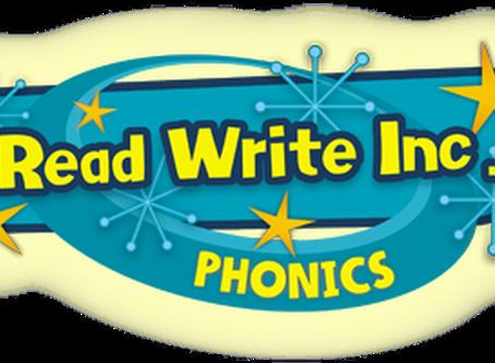 Read Write Inc Phonics at home!