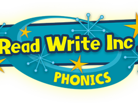 Read Write Inc Phonics at home!