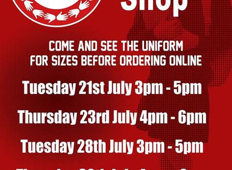 Uniform Pop Up Shop